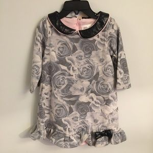 US ANGELS Floral Chemise Dress NEW 24Mo